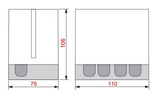 dimensiuni DGAI. 33F/2 - 2