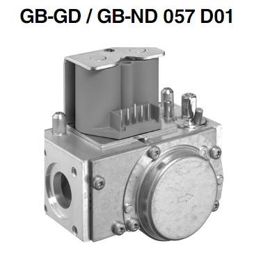 Bloc gaz GB-GD-ND 057 D01-2