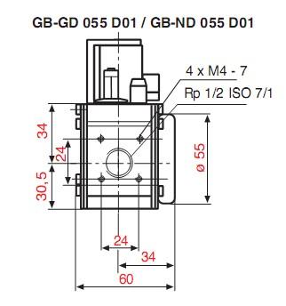 Dimensiuni GB-GD-ND 055 D01-2