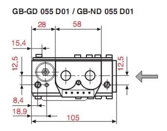 Dimensiuni GB-GD-ND 055 D01-3