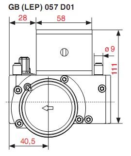 Dimensiuni GB-LEP 057 D01-1