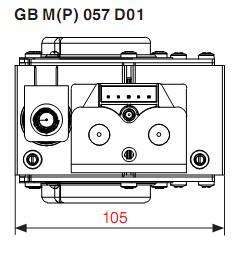 Dimensiuni GB-M-P 057 D01-3