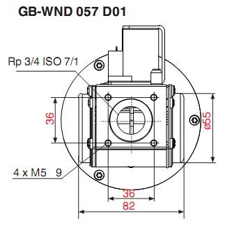 Dimensiuni GB-WND 057 D01-1
