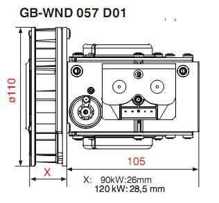 Dimensiuni GB-WND 057 D01-3