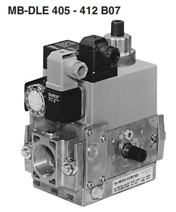 Bloc gaz MB-DLE 405-412 B07