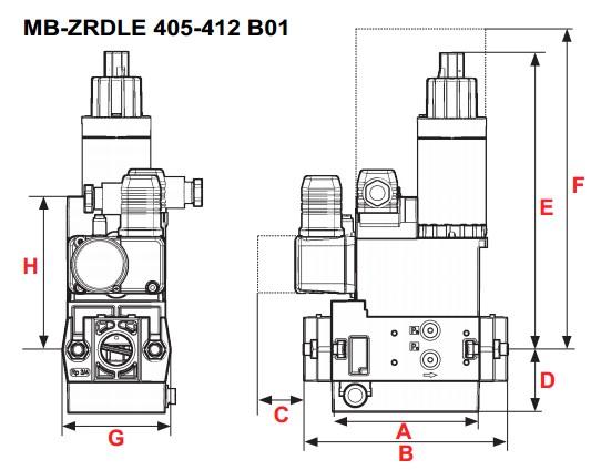 dimensiuni MB-ZRDLE 405-407-410-412 B01