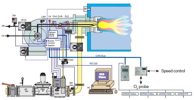 bcs 300 dungs  valve de gaz