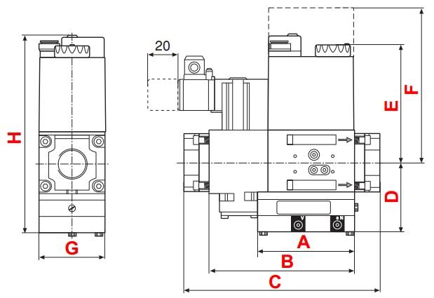 dimensions DMV-VEF/11 - 1