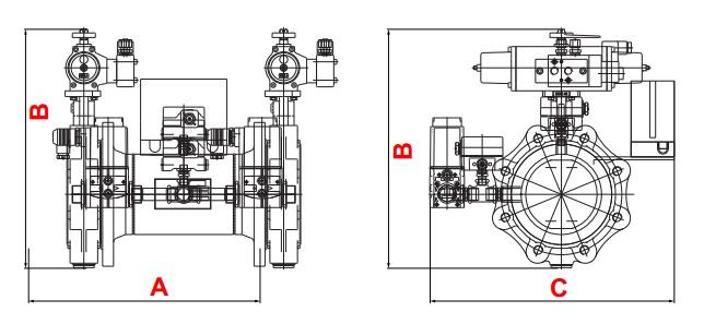 dimensions HF Bloc DSLC-SG