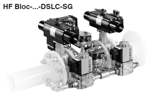 Double valve combination HF Bloc-DSLC-SG
