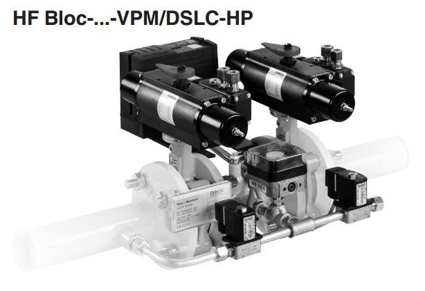 Double valve combination HF Bloc-VPM/DSLC-HP