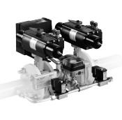 Double valve combination HF Bloc