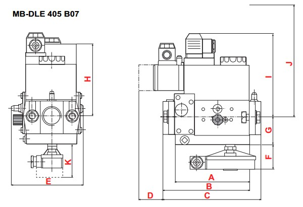 dimensions MB-DLE 405-B07