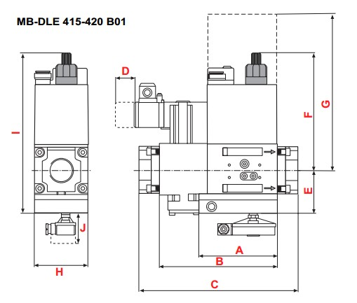 dimensions MB-DLE 415-420 B01