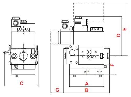 dimensions MB-VEF 407-412