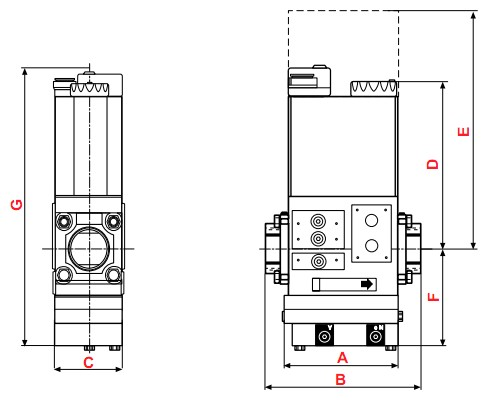 dimensions MB-VEF 425