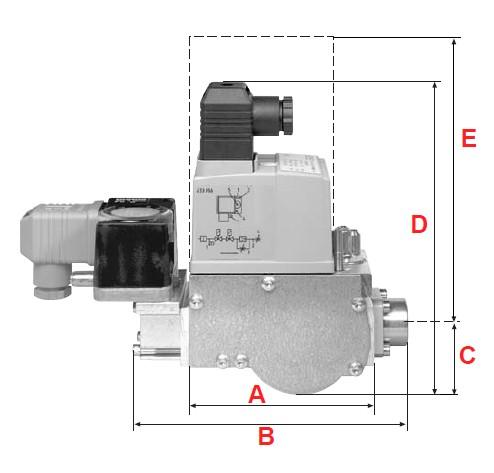 dimensions MBC-65-120 - 1