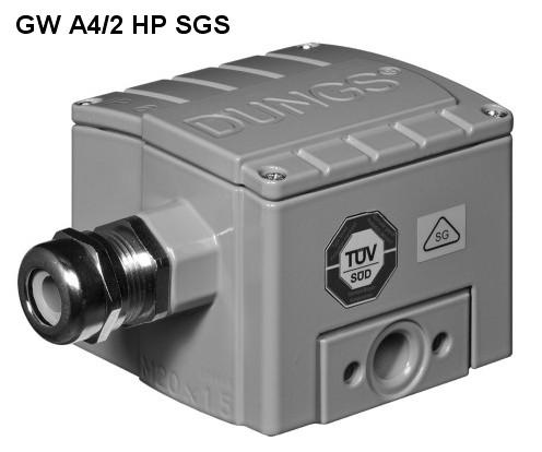 Presostat GW A4/2 HP SGS