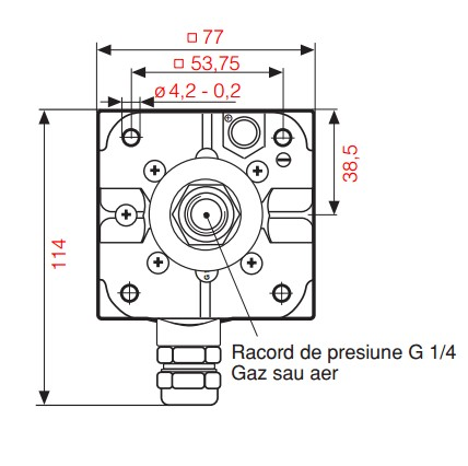 dimensiuni GW A4/2 HP M-2