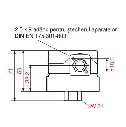 dimensiuni GW A4 HP-1