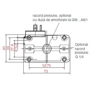 dimensiuni GW A6 - 1
