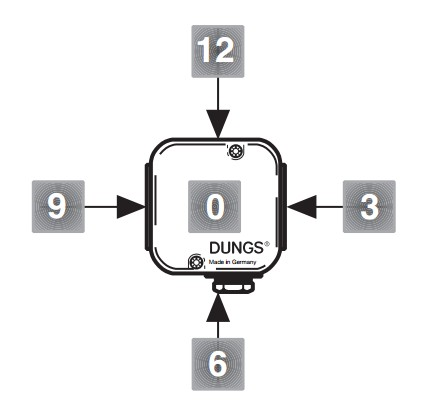 Schema Presostat KS A2-7