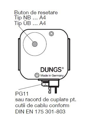 dimensiuni UB A4 - NB A4 - 2