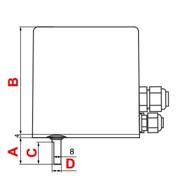 dimensiuni DMA-A-1