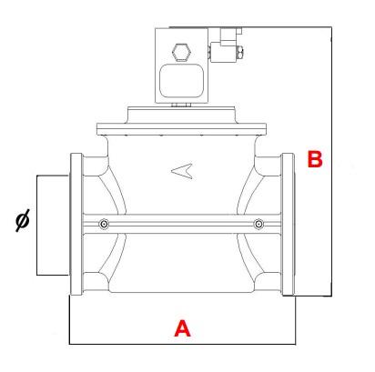 dimensiuni VR N.C. - 550 mbar-2