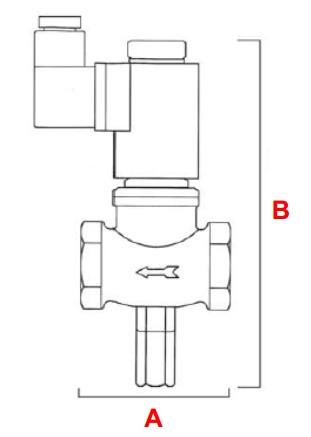 dimensiuni VR N.C. - 6 bar-1