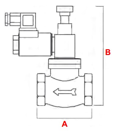 dimensiuni VR N.O. - 6 bar-1